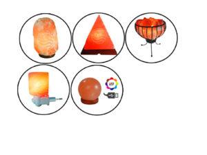 Lámparas de Sal Rosa
